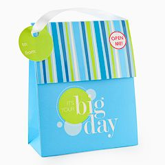 Gift Card Impressions 'It's Your Big Day' Bag Gift Card Holder