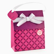 Gift Card Impressions Purple Bag Gift Card Holder
