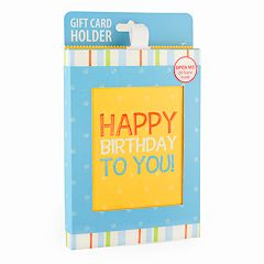 Gift Card Impressions 'Happy Birthday To You' Gift Card Holder