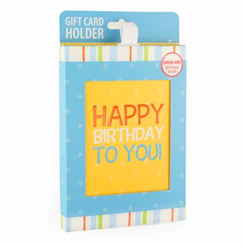 Gift Card Impressions