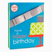 Gift Card Impressions Happy Birthday Cake Gift Card Holder