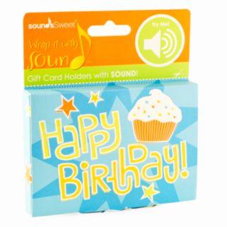 Gift Card Impressions Happy Birthday Sound Gift Card Holder