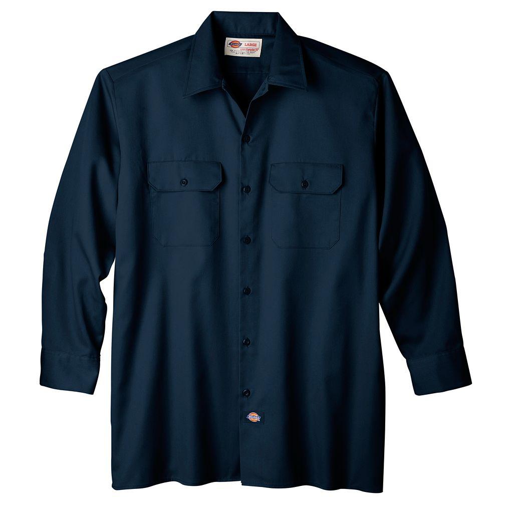 Big & Tall Dickies Original-Fit Work Shirt