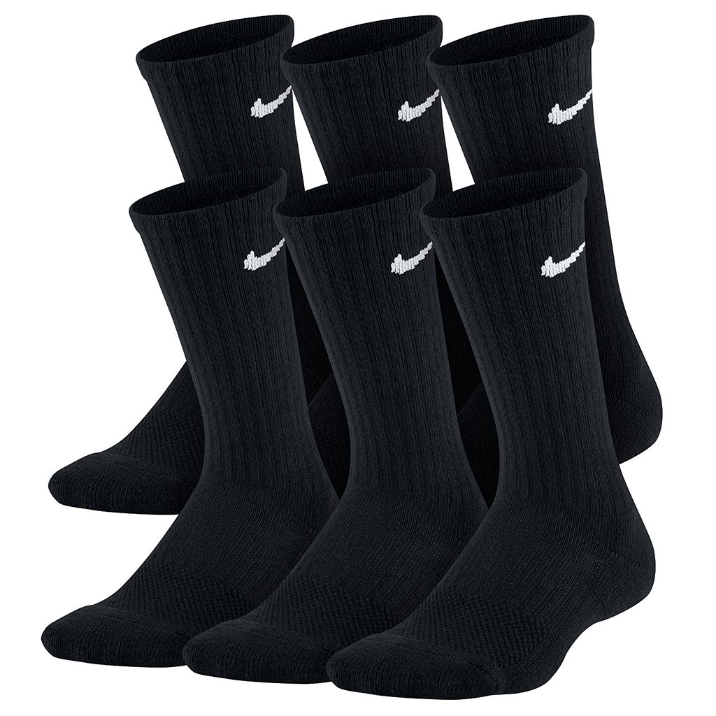Boys Nike 6-pk. Performance Crew Socks