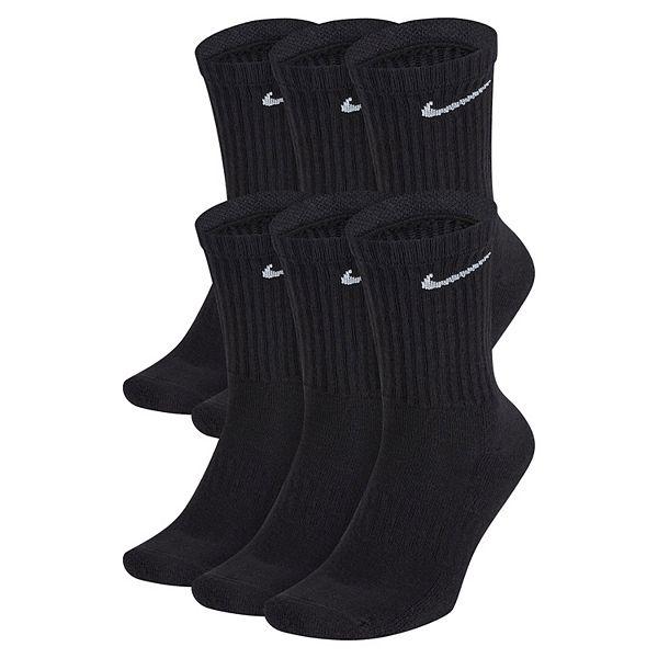 Boys 4-20 Nike 6-Pack Performance Crew Socks