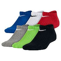 Boys Nike 6-pk. Performance No-Show Socks
