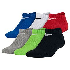 Boys Nike 6 pkPerformance No-Show Socks