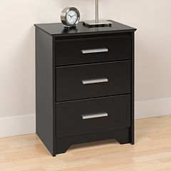 Prepac 3-Drawer Nightstand