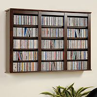 Prepac Wall-Mounted Multimedia Storage