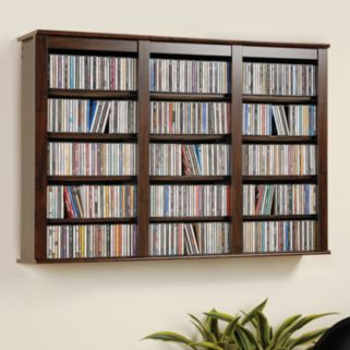 Prepac Wall-Mounted Multimedia Storage