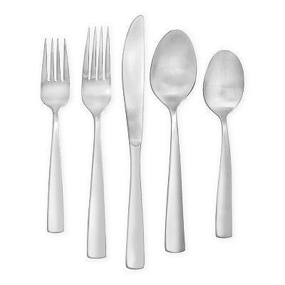 Food Network Parsley 77-pc. Flatware Set