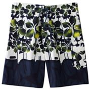 Beach Rays Hibiscus Board Shorts