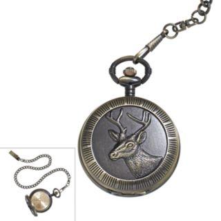 Men's Deer Pocket Watch