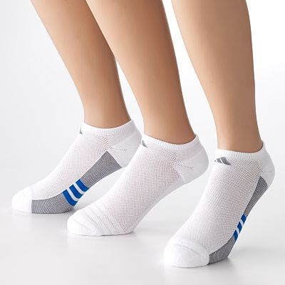 adidas ClimaCool 3-pk. No-Show Performance Socks