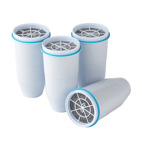 ZeroWater 4-pack Pitcher Replacement Filters