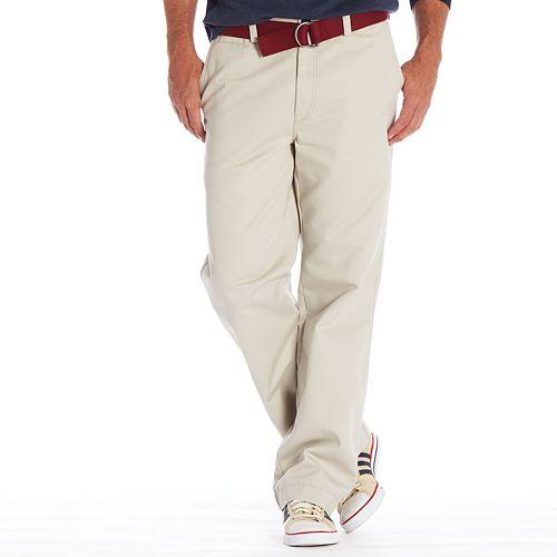 Cadet Blue NEW W//TAG Haggar Life Khaki Plain Front Pants Various Sizes