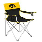 Iowa Hawkeyes Big Boy Portable Folding Chair