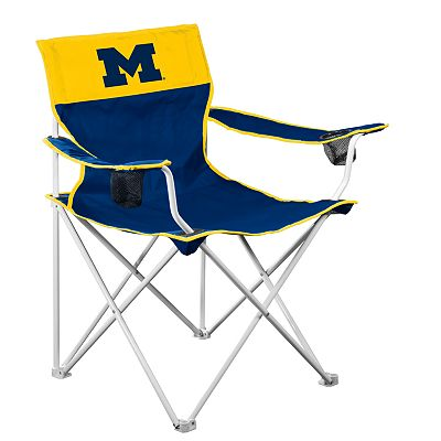 Michigan Wolverines Big Boy Portable Folding Chair