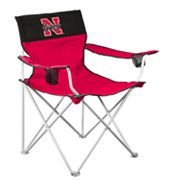 Nebraska Cornhuskers Big Boy Portable Folding Chair