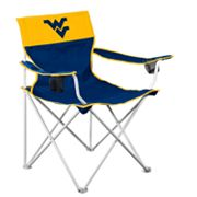 West Virginia Mountaineers Big Boy Portable Folding Chair