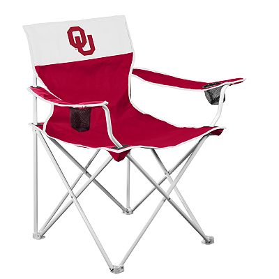 Oklahoma Sooners Big Boy Portable Folding Chair