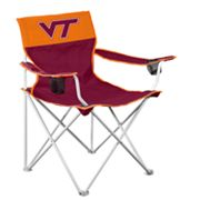 Virginia Tech Hokies Big Boy Portable Folding Chair