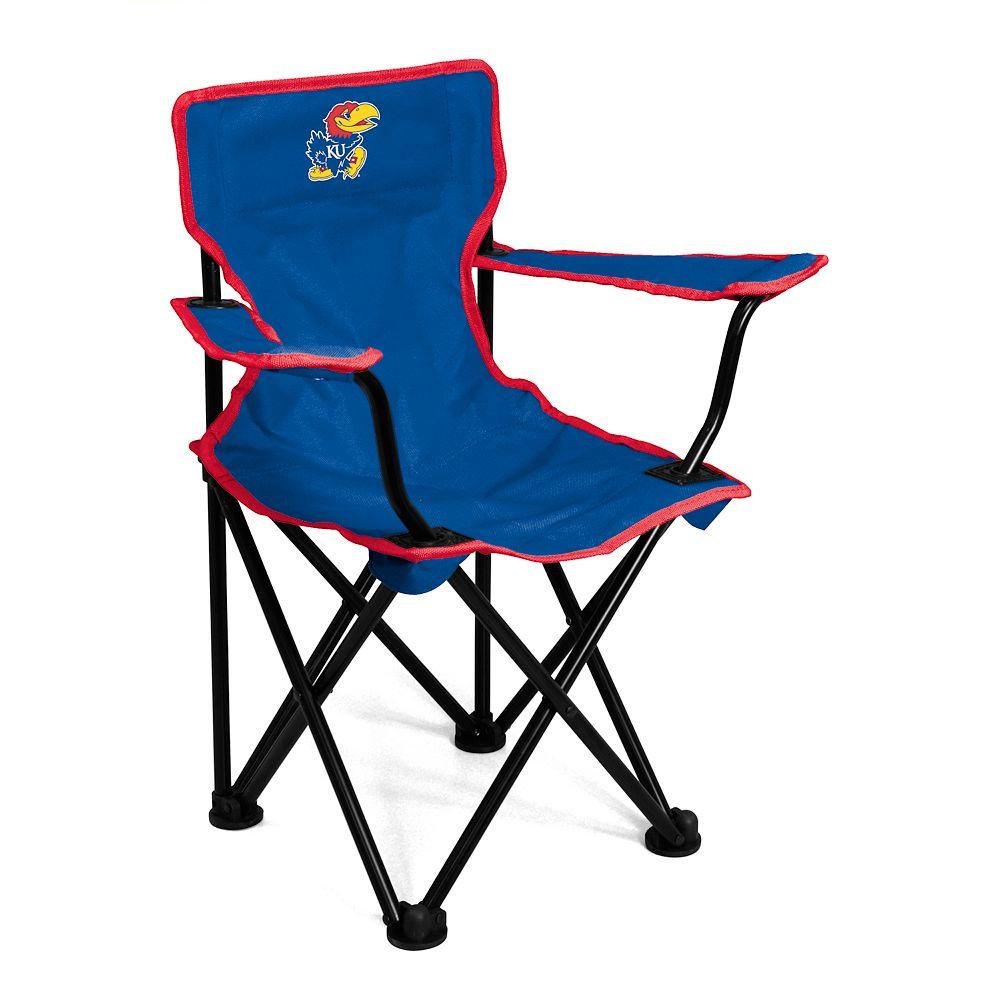 Kansas Jayhawks Portable Folding Chair - Toddler