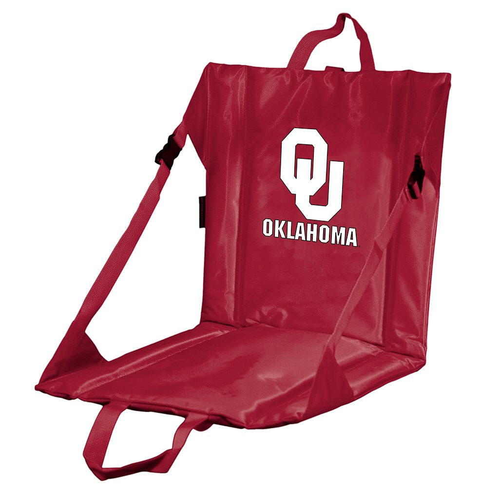 Oklahoma Sooners Folding Stadium Seat