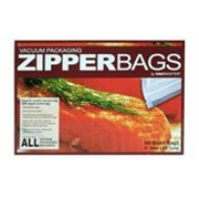 VacMaster 50-pk. Vacuum Packaging Zipper Bags