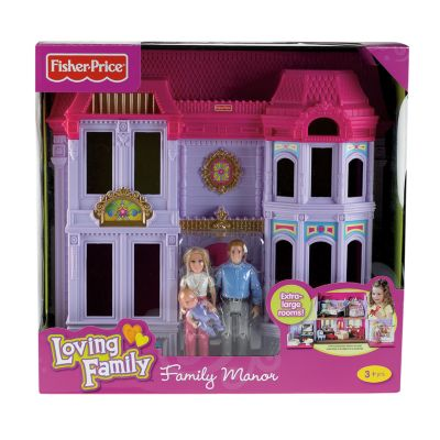 Loving Family Family Manor Dollhouse by Fisher-Price