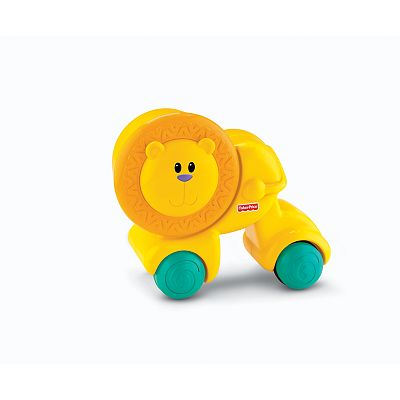 Fisher-Price Growing Baby Press and Crawl Lion