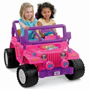 Power Wheels Barbie Jammin' Jeep Wrangler by Fisher-Price