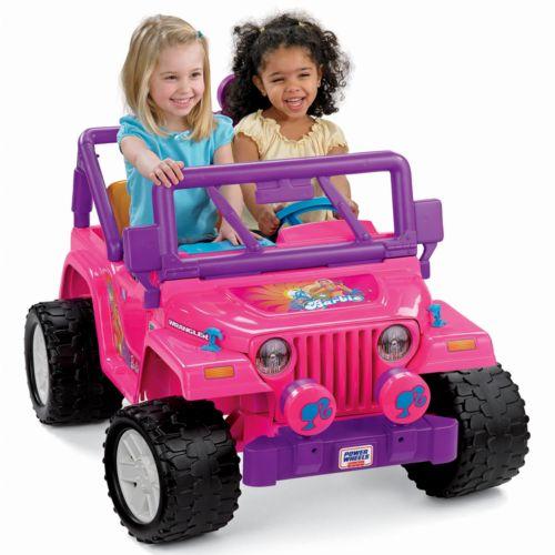 Power Wheels Barbie Jammin' Jeep Wrangler by Fisher-Price