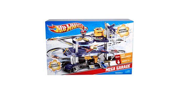 Hot Wheels Mega Garage Playset By Mattel