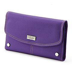 Buxton Westcott Leather Checkbook Wallet