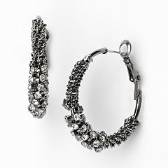 Simply Vera Vera Wang Hoop Earrings