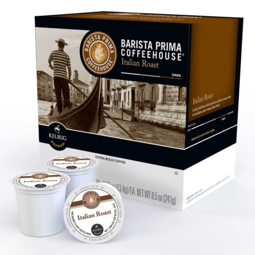 Keurig® K-Cup® Pod Barista Prima Coffeehouse Italian Dark Roast Coffee - 18-pk.