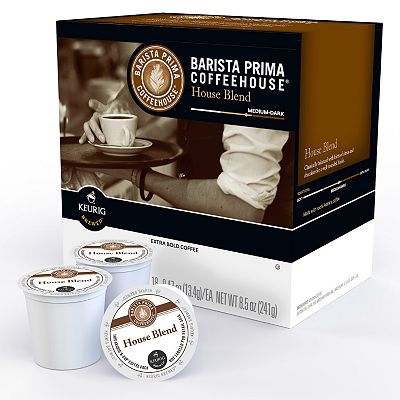Keurig K-Cup Portion Pack Barista Prima Coffeehouse House Blend - 18-pk.