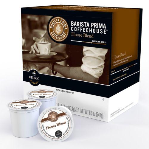 Keurig® K-Cup® Pod Barista Prima Coffeehouse House Blend Medium Roast Coffee - 18-pk.