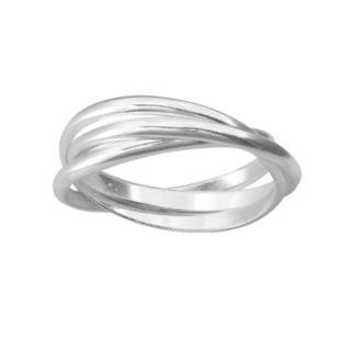 Sterling Silver Interlocked Ring