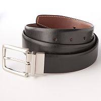 Croft & Barrow® Reversible Dress-To-Casual Faux-Leather Belt