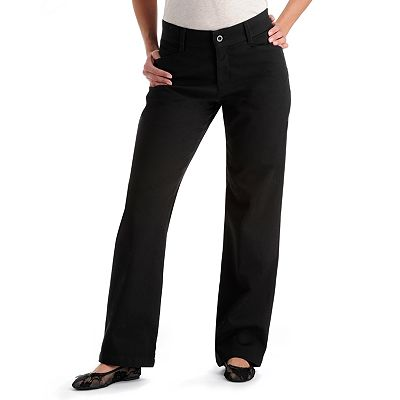Lee Relaxed Straight-Leg Pants - Petite