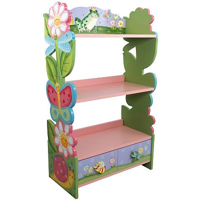 Teamson Kids Magic Garden Bookshelf