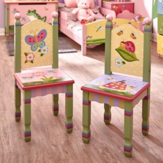 Teamson Kids Fantasy Fields Magic Garden Table and Chairs Set