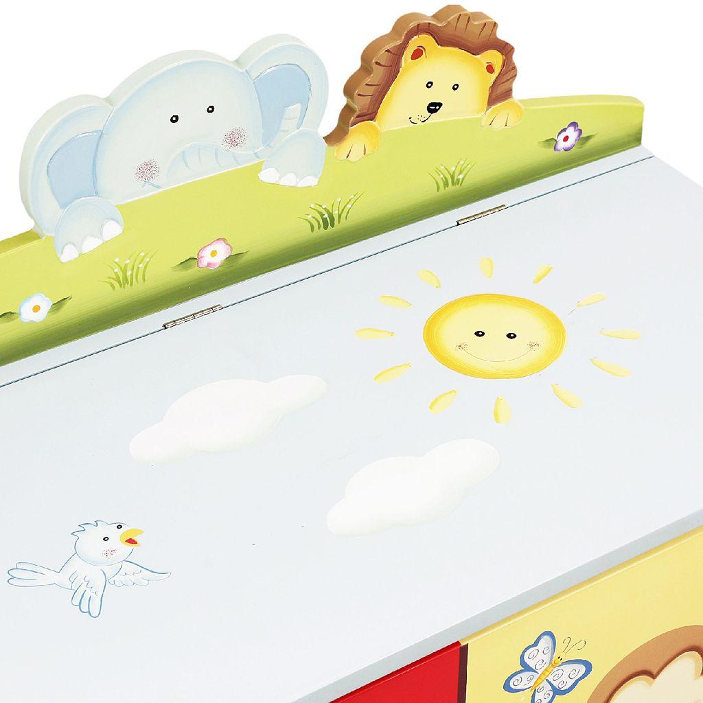 Teamson Kids Fantasy Fields Sunny Safari Toy Box