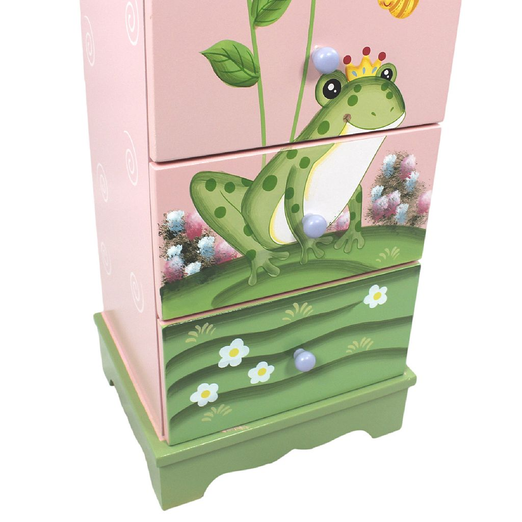 Teamson Kids Magic Garden 7-Drawer Cabinet