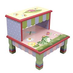 Teamson Kids Fantasy Fields Magic Garden Step Stool by