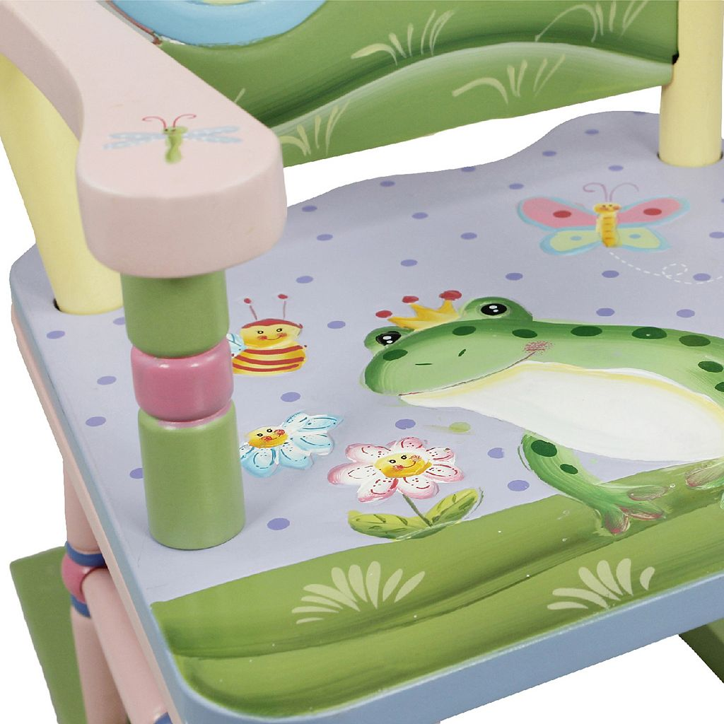 Teamson Kids Fantasy Fields Magic Garden Rocking Chair