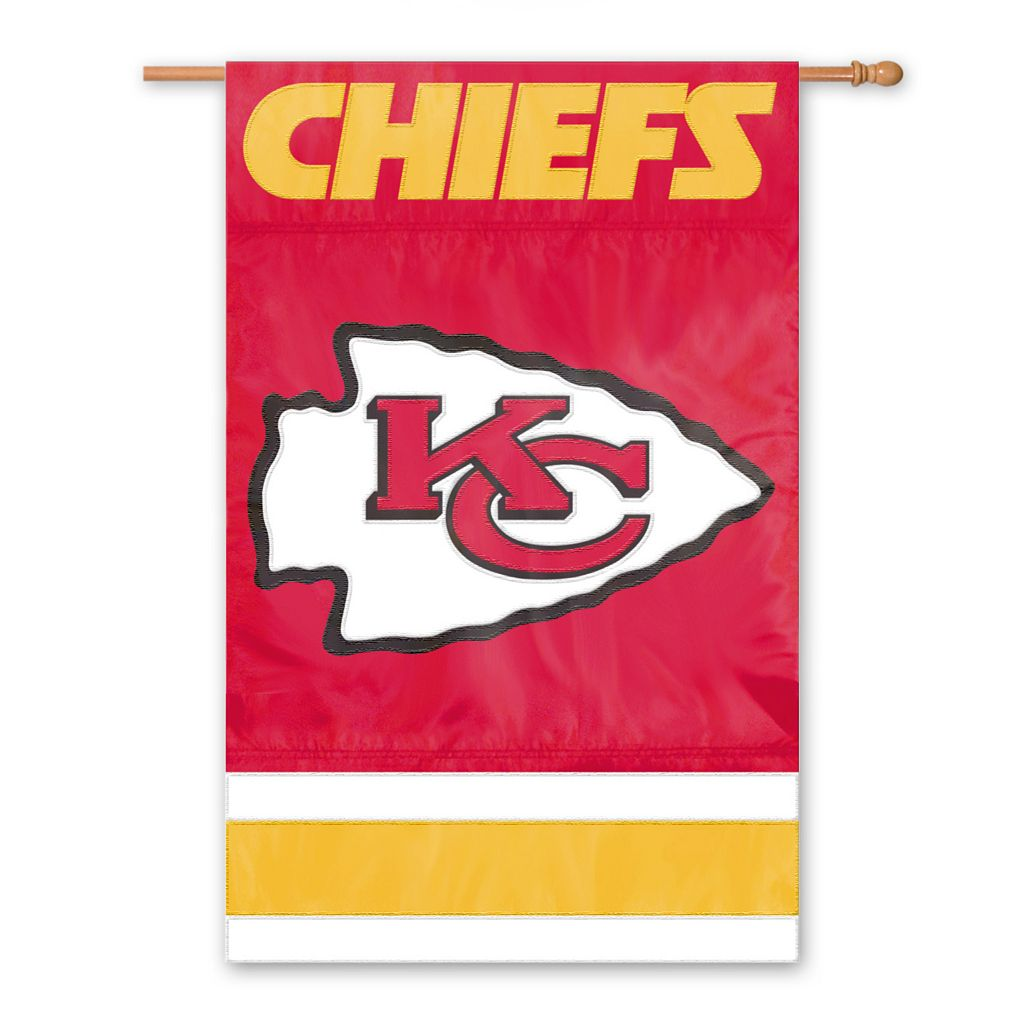 Kansas City Chiefs Two-Sided Flag
