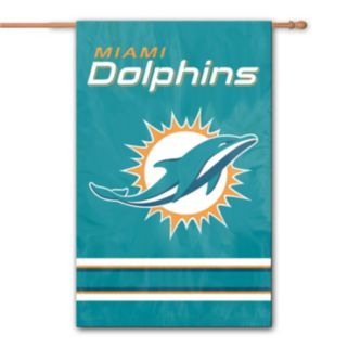 Miami Dolphins Two-Sided Flag